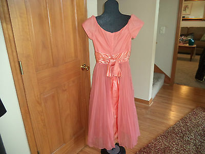 LADIES BEAUTIFUL 1950'S / 60'S PARTY, PROM DRESS