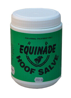 Equinade Hoof Salve Natural Ingredients Anti-Bacterial dressing for Horses 850g