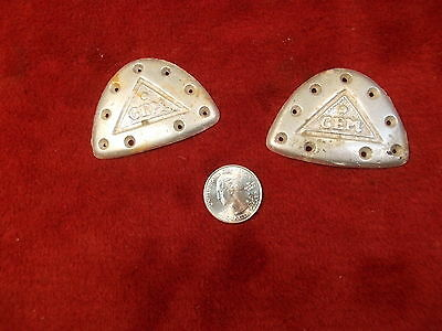 """Pair Of Older Vtg Antique? Shoe Taps From """"Gem"""", Good Used Condition, See Photos"""