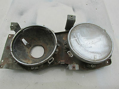 1963 Ford Fairlane 500 Right Side Head Light Buckets with Mounting Panel