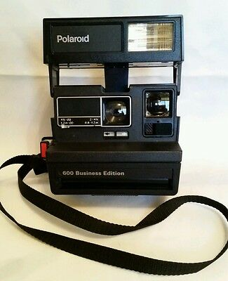 Vintage Polaroid OneStep 600 Business Edition Instant Camera.
