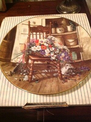 Bradford Exchange Collector Plate Cat Lovers