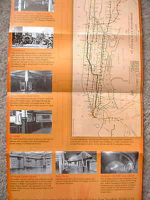 The First One Hundred Years subway  map 2004 brochure New York City