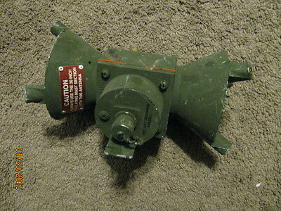 Military Antenna Feedcone Assembly, Part of OE-254, used