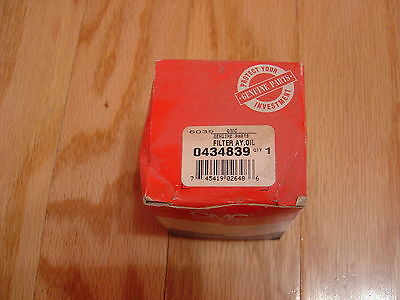New Oem Evinrude Johnson Brp Omc 0434809 434809 Marine Oil Filter Omc26