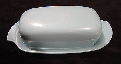 Boonton Turquoise Butter Dish Vintage