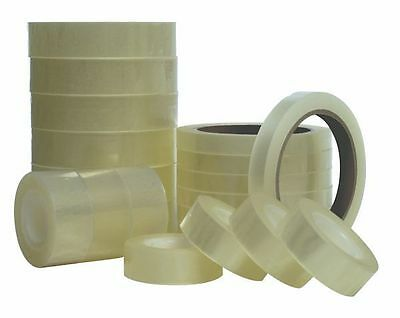 Quality Range of Clear Sellotape Style Sitcky Tape (Strong Adhesive Cellotape)