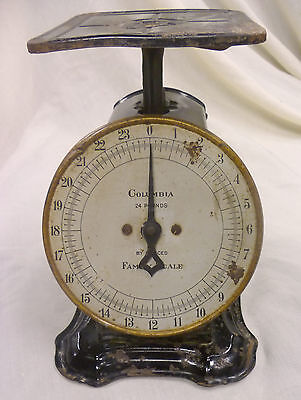 Antique Shapleigh Hardware Co. Scale/St. Louis/24 LB./Columbia