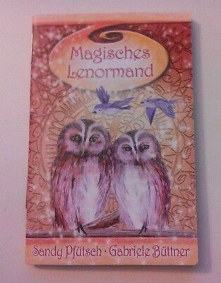 Magisches Lenormand Fortune Telling Oracle Card Deck Tarot