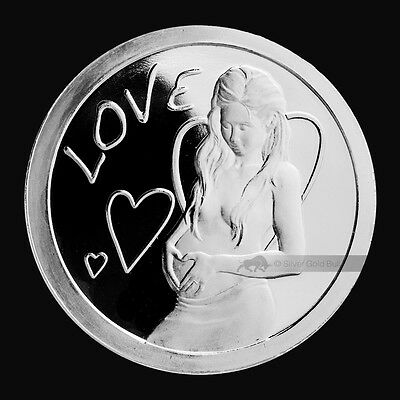 2013 SBSS Love 1 oz .999 Silver Proof-Like Round USA Made Coin - 3,040 MINTED!
