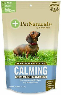 Pet Naturals Of Vermont Calming for Dogs NEW Sealed Bags