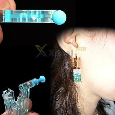 New Healthy Safety Asepsis Disposable Unit Ear Studs Piercing Gun Piercer Tool