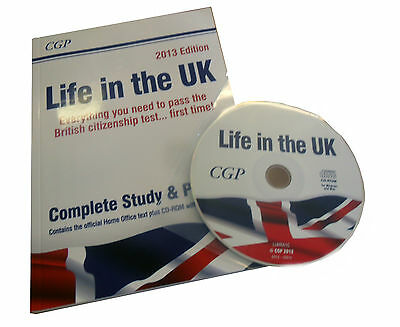 Life in the UK Test - Study and Practice by Richard Parsons Paperback, 2013 + CD