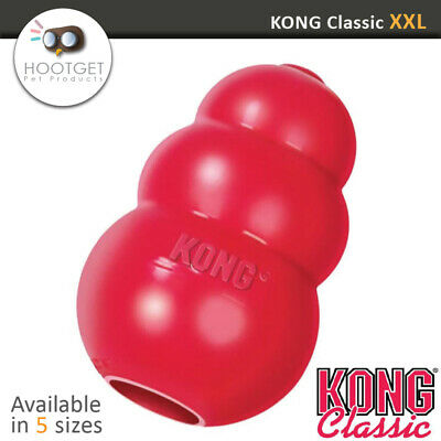 KONG Classic King Stuffing Dog Toy Tough Pet Chew Rubber KK S M L XL (XXL Grand)
