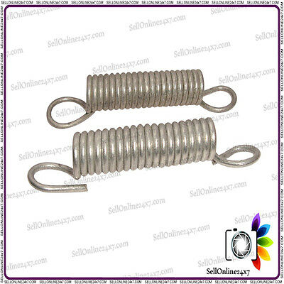 Pair Of Full Rear Wheel Stand Spring Set Sizes-75mm For Classic Vintage Bicycle