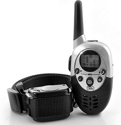 Remote Control Electric Shock Vibrate LCD Dog Anti-bark Training Collar US