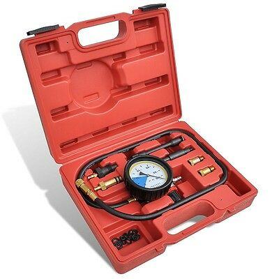 Car Cylinder Pressure Meter Petrol Diesel Engine Compression Repair Testing Tool