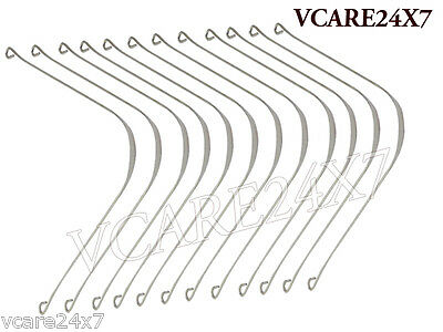 Tongue Cleaner Tongue Scraper Stainless Steel set Of 12 PCs VC4015