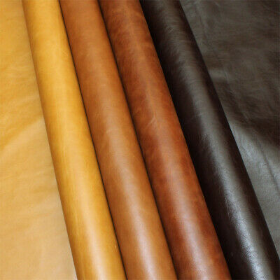 Leather Cowhide 1 Mm Thick Pull-Up Various Sizes And Colours With Antique Look