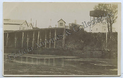 1917 Rp Postcard Low Water Mark River Murray The Wharf Renmark Reiner Photo G94