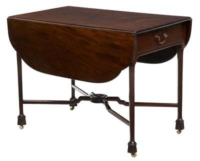 18Th Century Chippendale Mahogany Pembroke Table