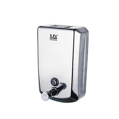 Curva 800 Commercial Grade Stainless Steel Bathroom Wall Mounted Soap Dispenser