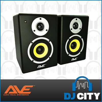 "4"" Inch AVE Studio Monitors Home Studio, DJs, Producers and Computer Speakers"