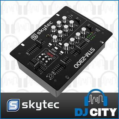 2-Channel Mixer with built in MP3 player - Great for DJ's, Karaoke and cafes ...