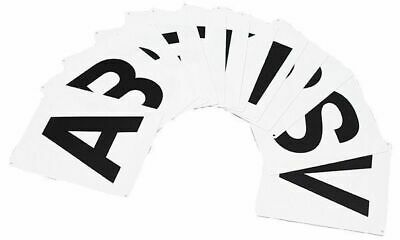 Dressage Arena Horse riding Letters Markers 12 strong easy read+attach
