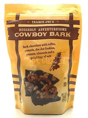 Trader Joe's Ruggedly Adventuresome Cowboy Bark Chocolate Cocoa Butter Cookies