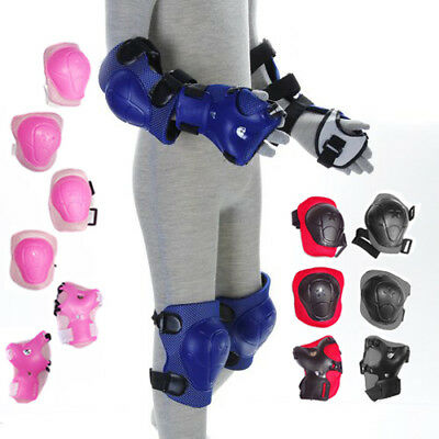 Children Kids Elbow Wrist Knee Pad Sports Playing Skating Protector In 5 Colors
