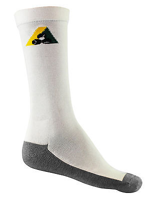 Lawn Bowls Bamboo Charcoal Health Sock  With BA Logo - Bowls Australia Approved
