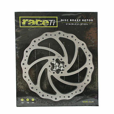 Stainless Steel MTB Bicycle Disc Brake Rotor 203 mm including bolts