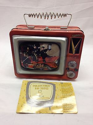 Vandor Three Stooges 1999 Collectable TV Luncbox Tin