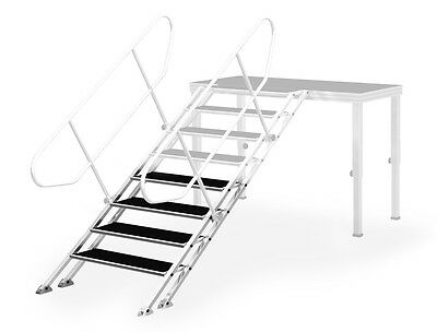 Adjustable stairs for professional staging - DJ City Australia