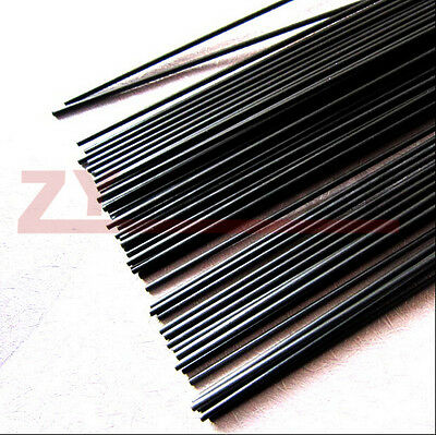 5pcs 2.5 mm Diameter x 500mm Carbon Fiber Rods For RC Airplane High Quality Pole