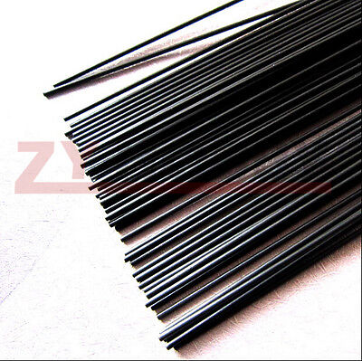 5pcs 3.5 mm Diameter x 500mm Carbon Fiber Rods For RC Airplane High Quality Pole
