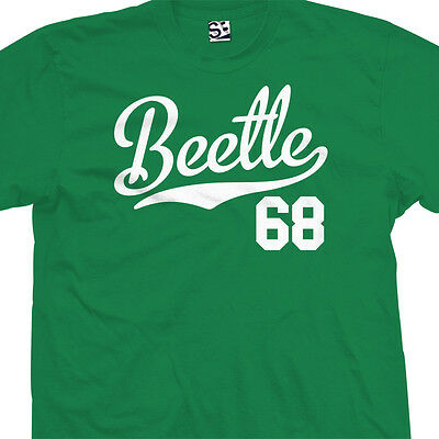 Beetle 68 Script Tail Shirt - 1968 Classic Volkswagen VW Bug - All Size & Colors