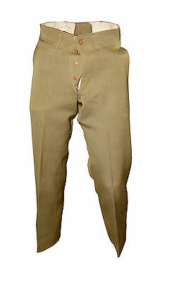 1920's US Army Wool Pants - Size 30 - Named  [30078]