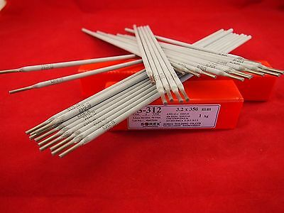 Weld All 3.2mm x 1.0KG 312 Stainless Steel Weld All Welding Rods Unknown Metals