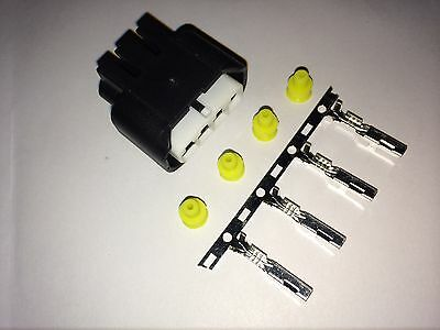 4x Denso Coil on Plug Connector 90980-11885 TOYOTA YARIS fits: 90919-02240 LX30