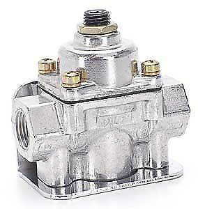 Holley 12-803BP Fuel Pressure Regulator 2-Port Bypass For Use with Gasoline