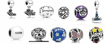 *Pandora Disney Exclusive Charms Ear Hat, Sorcerer Hat, Mickey Parts And More