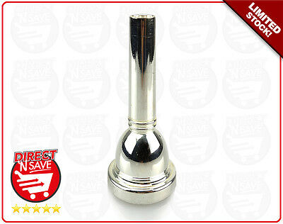 Trombone Mouthpiece Silver Plated Copper Alloy. BRAND NEW, FREE POSTAGE
