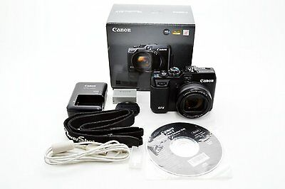 #Excellent#Canon PowerShot G1 X Digital Camera - Black with box from Japan #255R