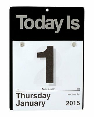 AT-A-GLANCE Today Is Daily Wall Calendar 2015 by At-A-Glance CCC