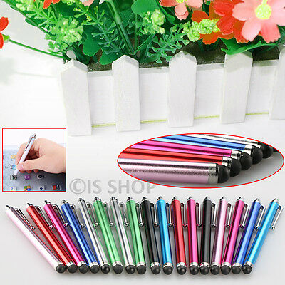 Touch Screen Stylus Pen Capacitive Aluminium For Apple iPhone 5 6S Samsung HTC