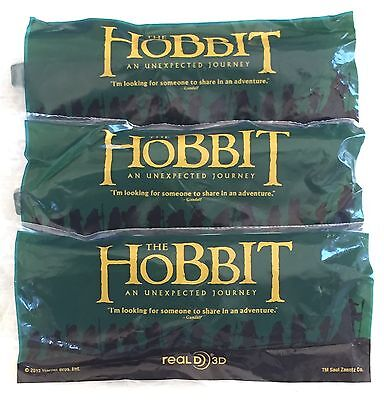 3 X Hobbit 3D Glasses - New And Sealed - Real D - Promo - Collectable -
