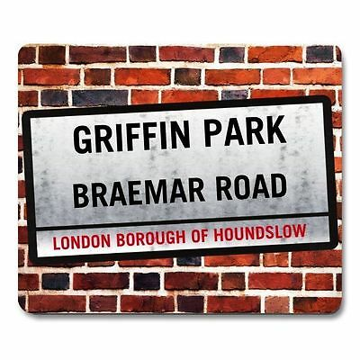 BRENTFORD FC GRIFFIN PARK themed St. Sign MOUSEMAT PERSONALISE IT mouse mat pad