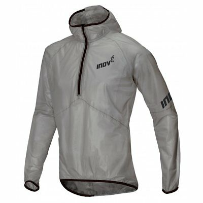 Inov8 Race Ultrashell™ HZ U - Gargoyle Transparent Unisex Waterproof Jacket